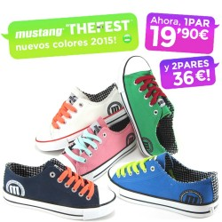 Zapatillas canvas lona cordones MTNG by THE FEST