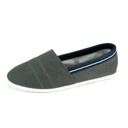 Zapatillas lona canvas mtng gris
