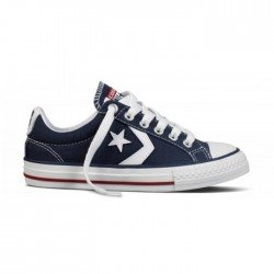Canvas Converse cordones Star Player lona marino