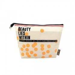 Bolsa aseo lino Beauty Lies Within Arm Candy Disaster Designs