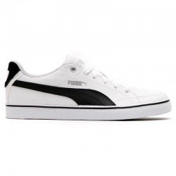 Playera casual Puma Court Vulc blanca