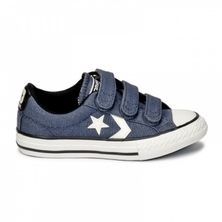 Converse Star Player 3 velcros jeans