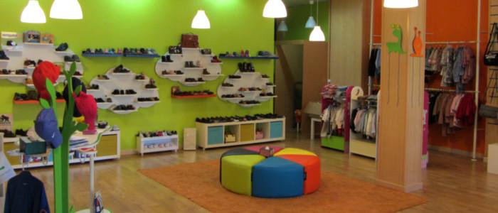 Nuestra tienda zapanines for Zapateria infantil