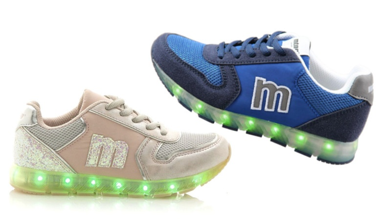 Deportivas con luces para niños mtng