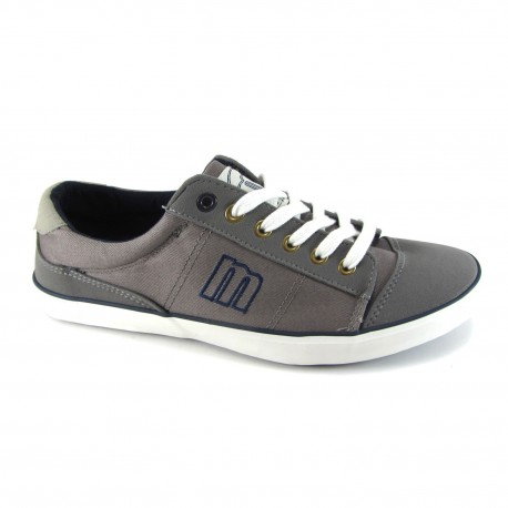 Canvas deportivas new raspa mtng gris