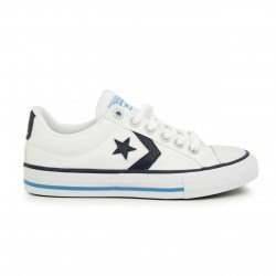 Canvas Converse cordones Star Player blanca
