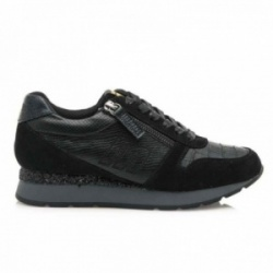 Zapatillas sneakers MTNG Mustang softy coco negro