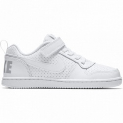 Deportiva Nike Court Borough low velcro blanco (PSV)
