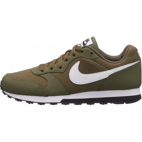 c0bc8821a5b Deportiva Nike MD Runner verde con cordones (GS)