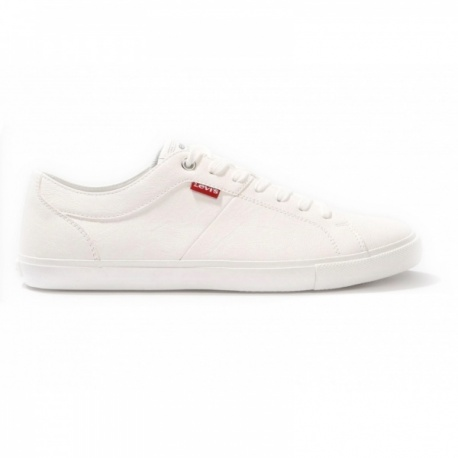 Zapatilla casual Levis blanco