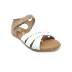 Sandalias Oh! My Sandals piel blanco