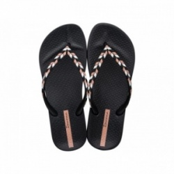 Chanclas Ipanema negro-multicolor