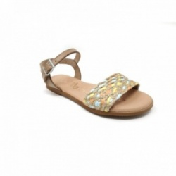 Sandalias Oh! My Sandals piel taupe