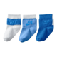 Pack 3 calcetines Nike blanco-celeste pack-3