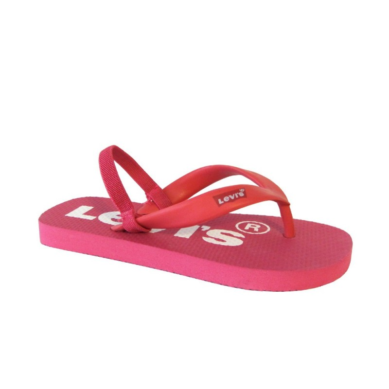 Chanclas dedo ni as playa piscina goma tal n levi s rosa for Piscinas de goma