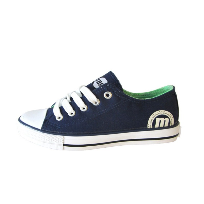 Zapatillas canvas lona cordones Mustang